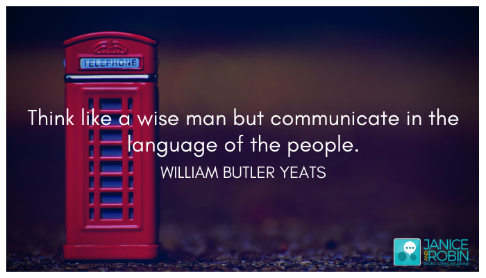 Customer language